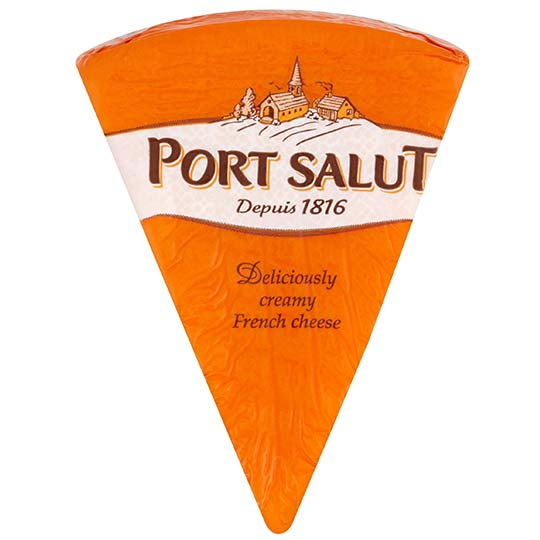 Semi-Soft French Cheese Wedge